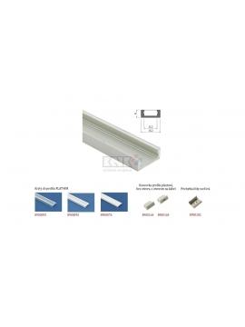 Profil pre LED pásik FLAT HM