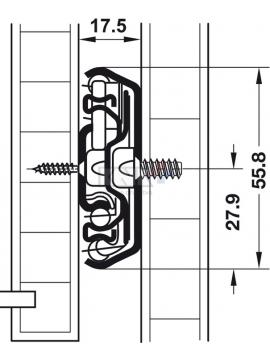 Záves INTERMAT 9930 B24 TH52